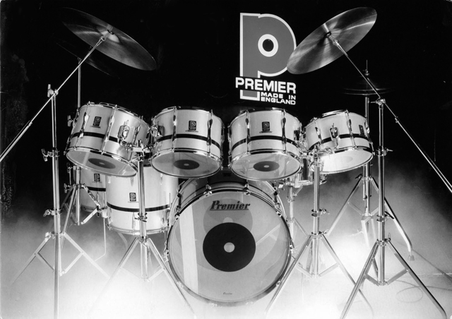 The Rocky History Of Premier Drums – DRUM! Magazine
