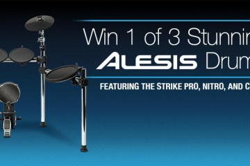 alesis three-kit drum giveaway