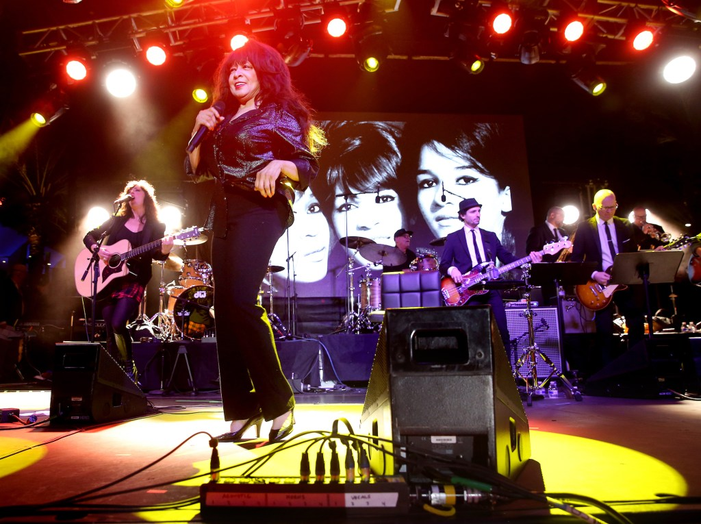 ANAHEIM, CA - JANUARY 21: Singer Ronnie Spector performs onstage during the 2017 NAMM Show at the Anaheim Convention Center on January 21, 2017 in Anaheim, California. (Photo by Jesse Grant/Getty Images for NAMM)