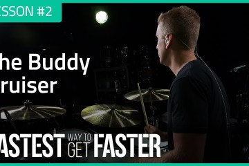 The Fastest Way to Get Faster Drum Lesson DAY 2 BuDDY RICH featured image