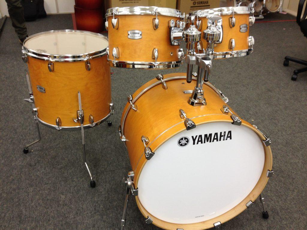yamaha unveils tour custom maple drum set at summer namm