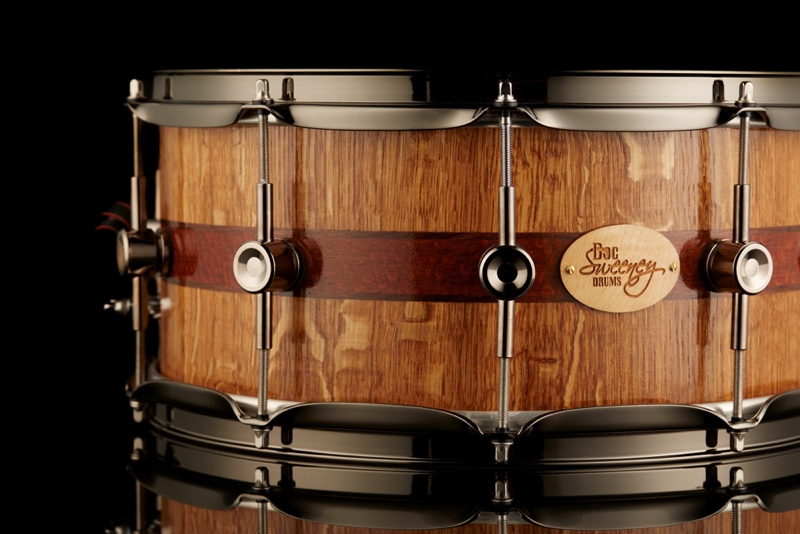Roble Blanco: Spessart Oak with leopardwood and walnut inlays.