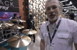 Sabian Cymbals at Winter NAMM 2018