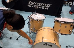 Ludwig Neusonic at the Chicago Drum Show