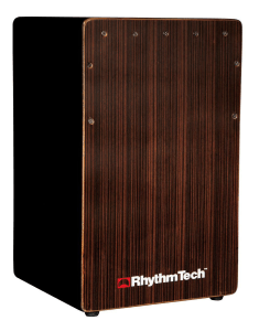 Rhythm Tech's new cajon with enhanced bass port