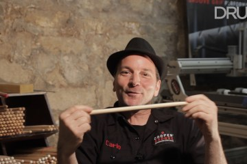 Carlo Cooper of CooperGroove Drumsticks