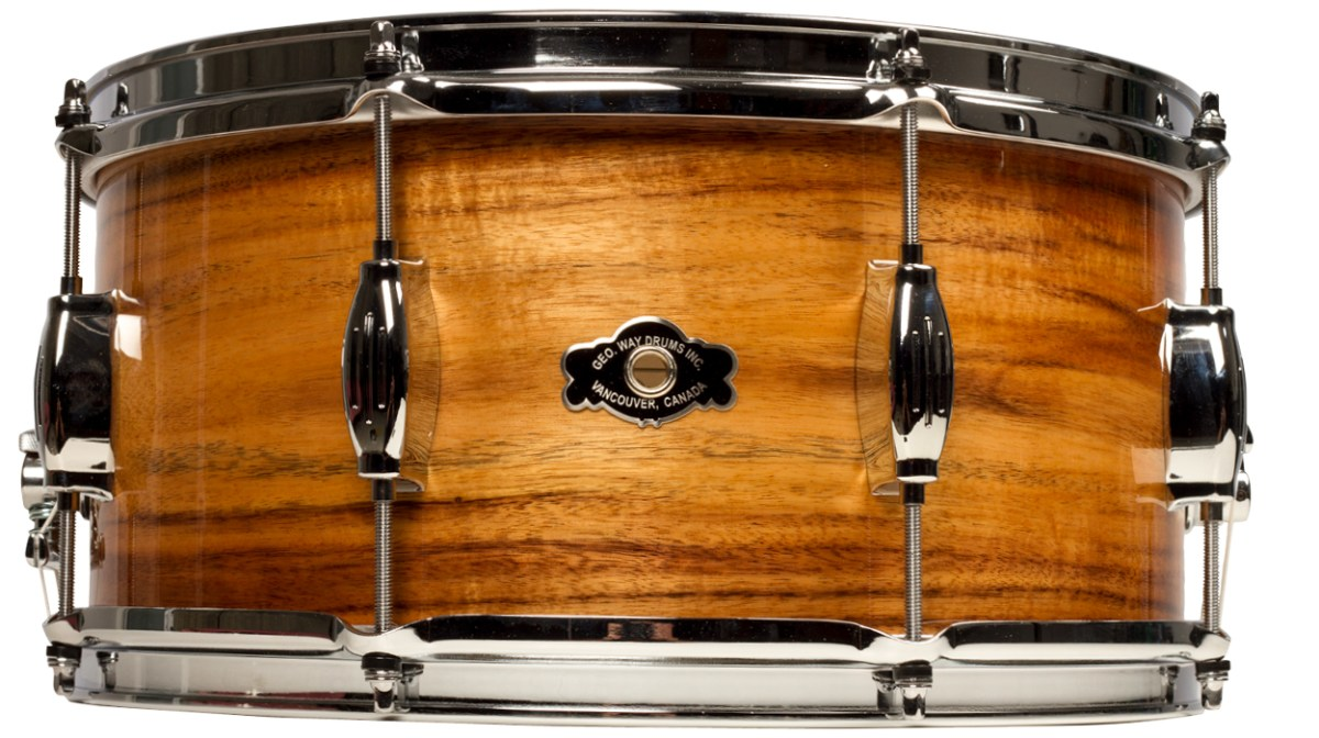 exotic wood snare roundup GEORGE H. WAY SIGNATURE CARTER MCLEAN