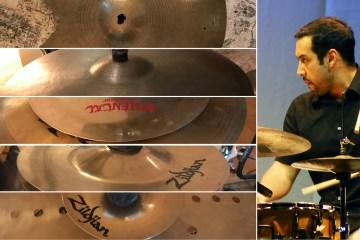Antonio Sanchez 5 Pieces of Gear Zildjian cymbals