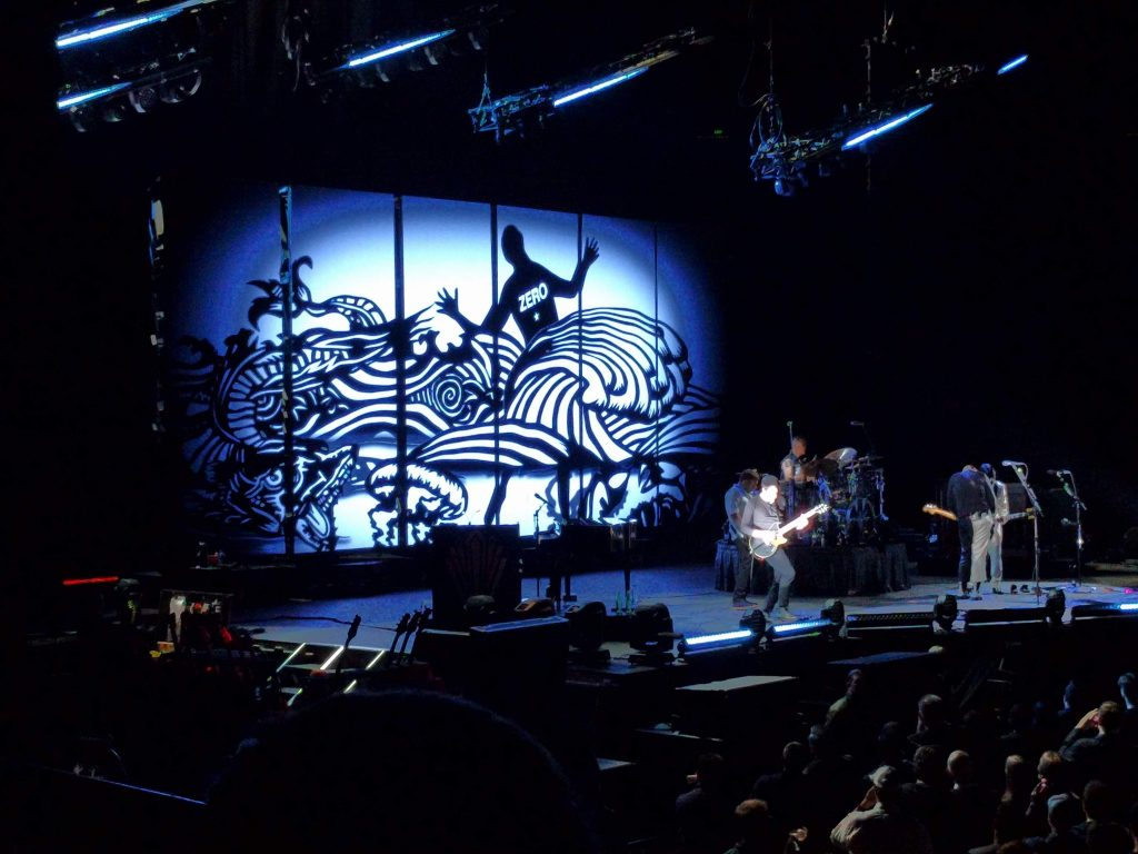 Smashing Pumpkins at Oracle Arena Aug. 27, 2018