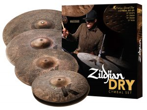 Zildjian K Custom Dry cymbal pack