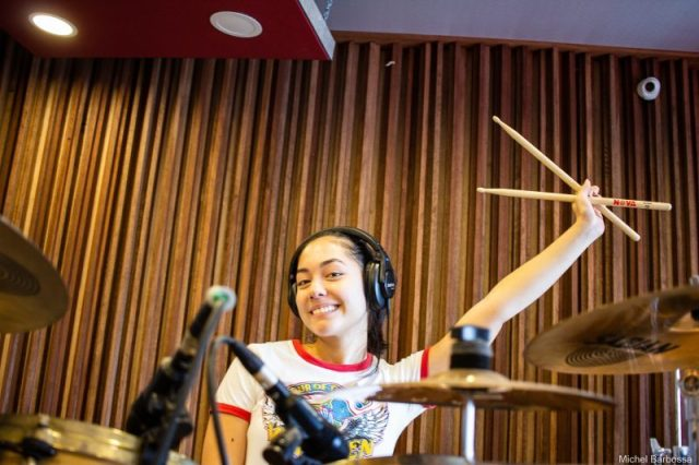 #WCW: 16-Year-Old Metal Drummer Giovanna Takaki Bottai Has Chops To Burn