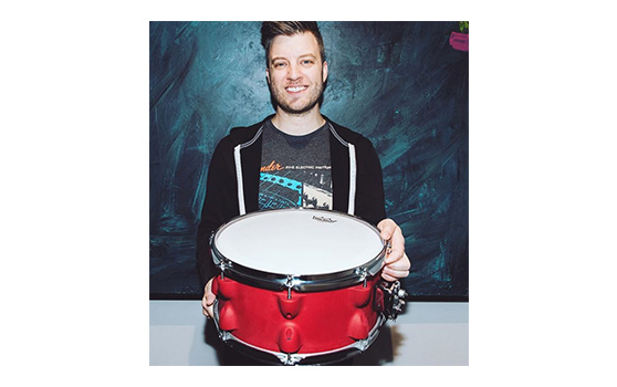 3D printed snare drum from Panic! At The Disco drummer Dan Pawlovich