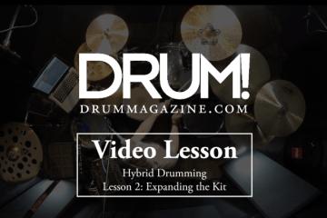hybrid drum lesson