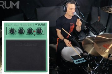 hybrid drum lesson roland spd one electro