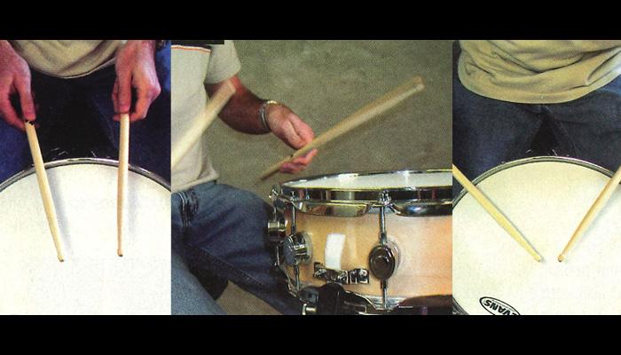 DRUM fast drumming hand