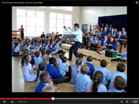 Drumming Workshops can deliver an exciting 'Whole School' morning assembly, or at the end of the day as a celebration of learning new skills.