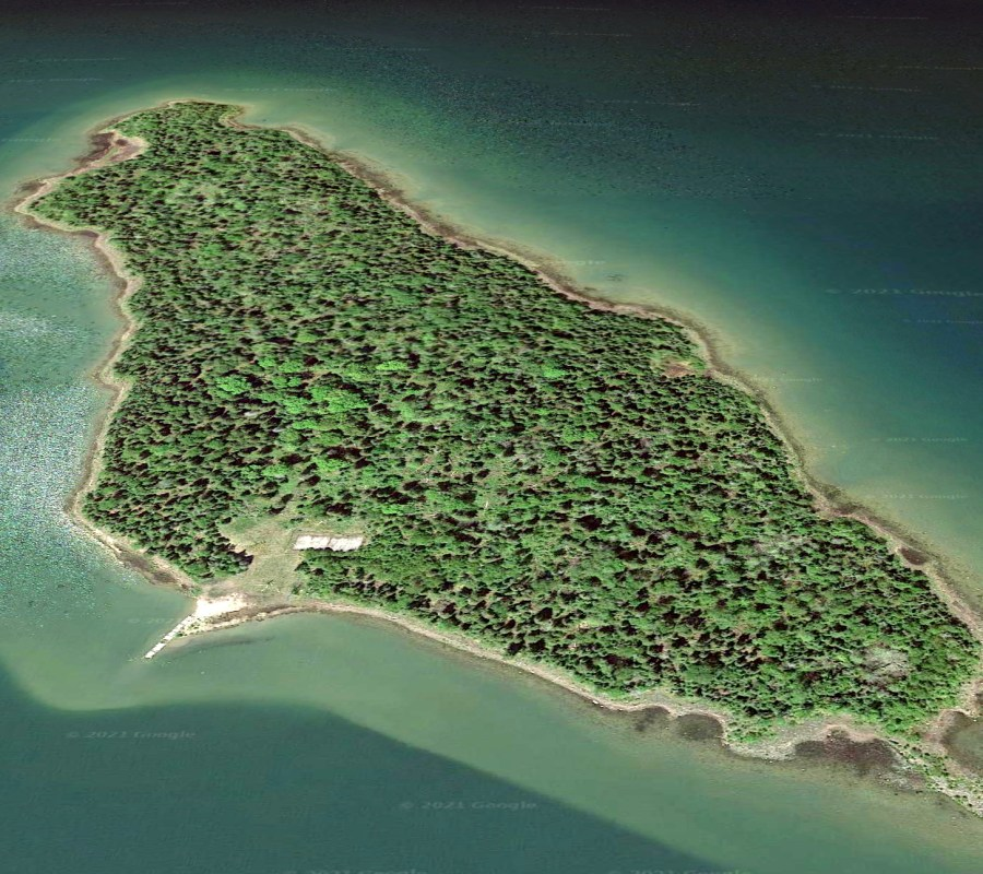 Butterfield Island, private island for sale