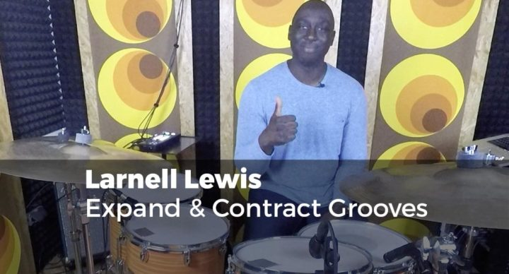 larnell lewis - Expand & Contract Grooves