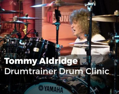 Tommy Aldridge Clinic