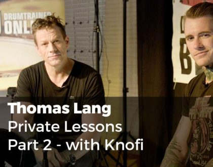 Thomas Lang private lesson Part 2