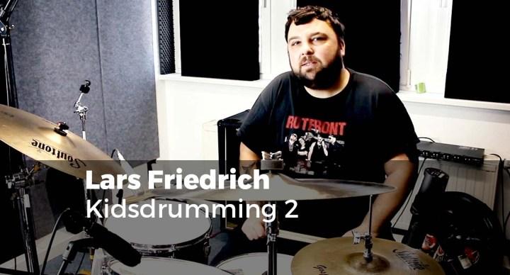 Kidsdrumming 2 mit Lars Friedrich