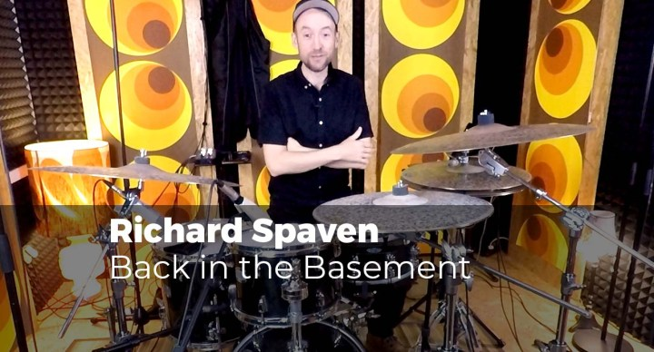 Back in the basement with Richard Spaven