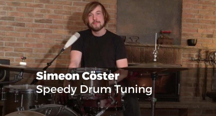 Speedy Drum Tuning mit Simeon Cöster