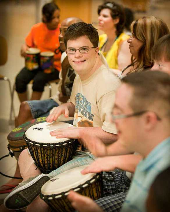 Special Needs Drummer
