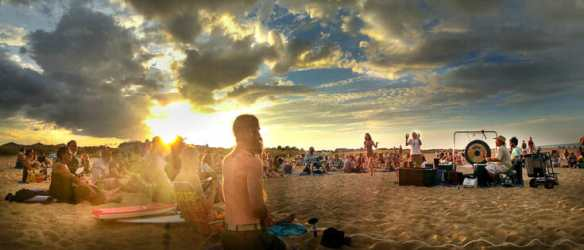 Aug 2016 Full Moon Drum Circle VA Beach2web-1
