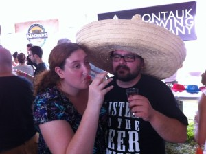 Melba and Mike from The Beer Amigos