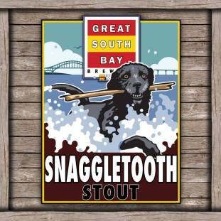 Great South Bay Brewery Snaggletooth Stout