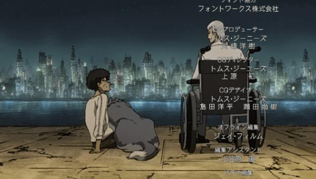 Megalo box ep 13 Joe and Yuri wheelchair