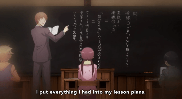 Assassination classroom flashback