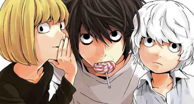 death note anime mello L Near