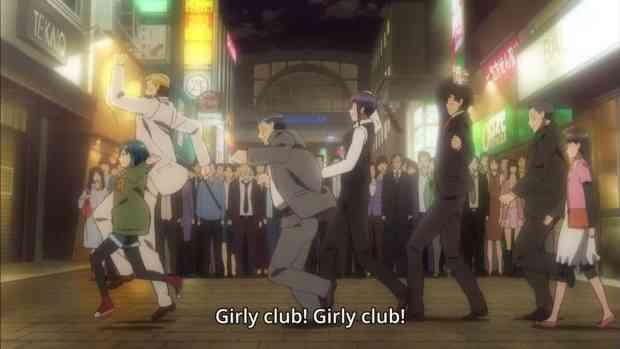 Hinamatsuri anime girly club