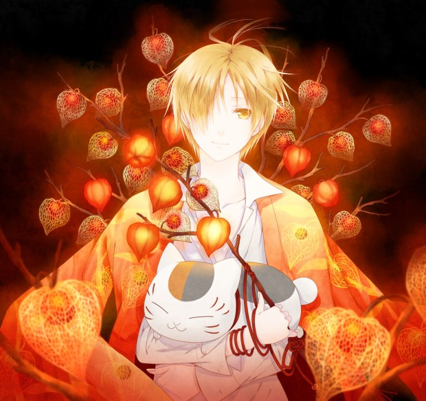 Natsume.Yuujinchou red laterns
