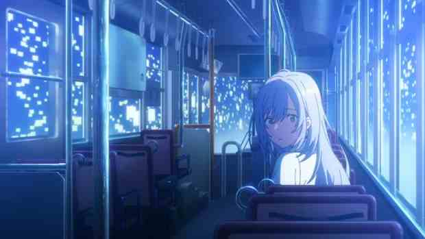anime on bus