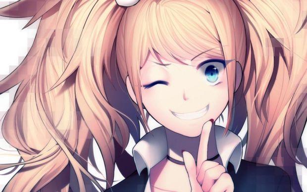 Junko smiling