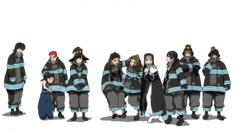 Fire Force ep18-end