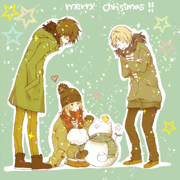Natsume.Yuujinchou. christmas