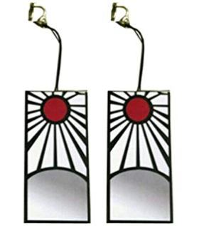 demon slayer earrings