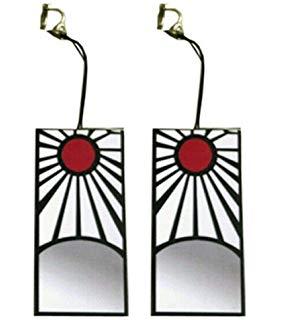 demon slayer earrings