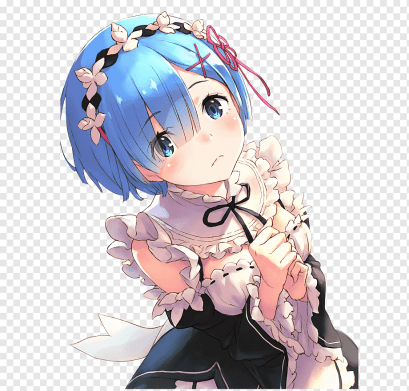 png-transparent-re-zero-−-starting-life-in-another-world-r-e-m-drawing-fan-art-anime-anime-cg-artwork-black-hair-cartoon