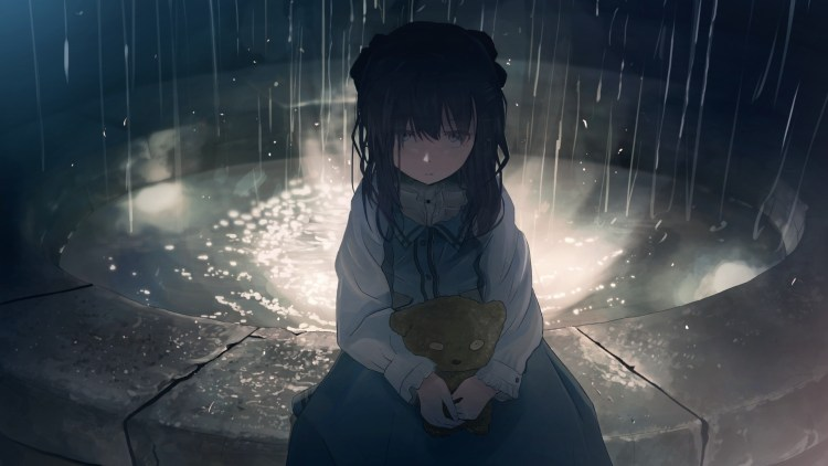 anime lonely