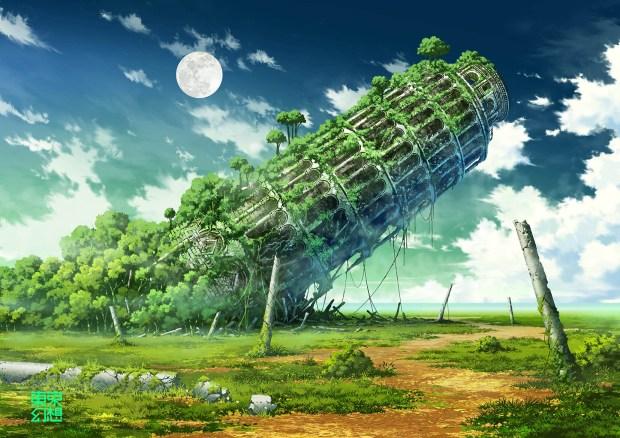 anime ruins