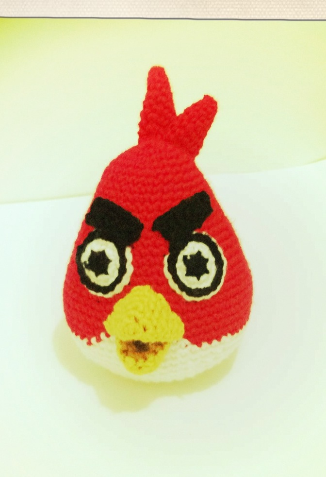Free Pattern – Red Angry Bird