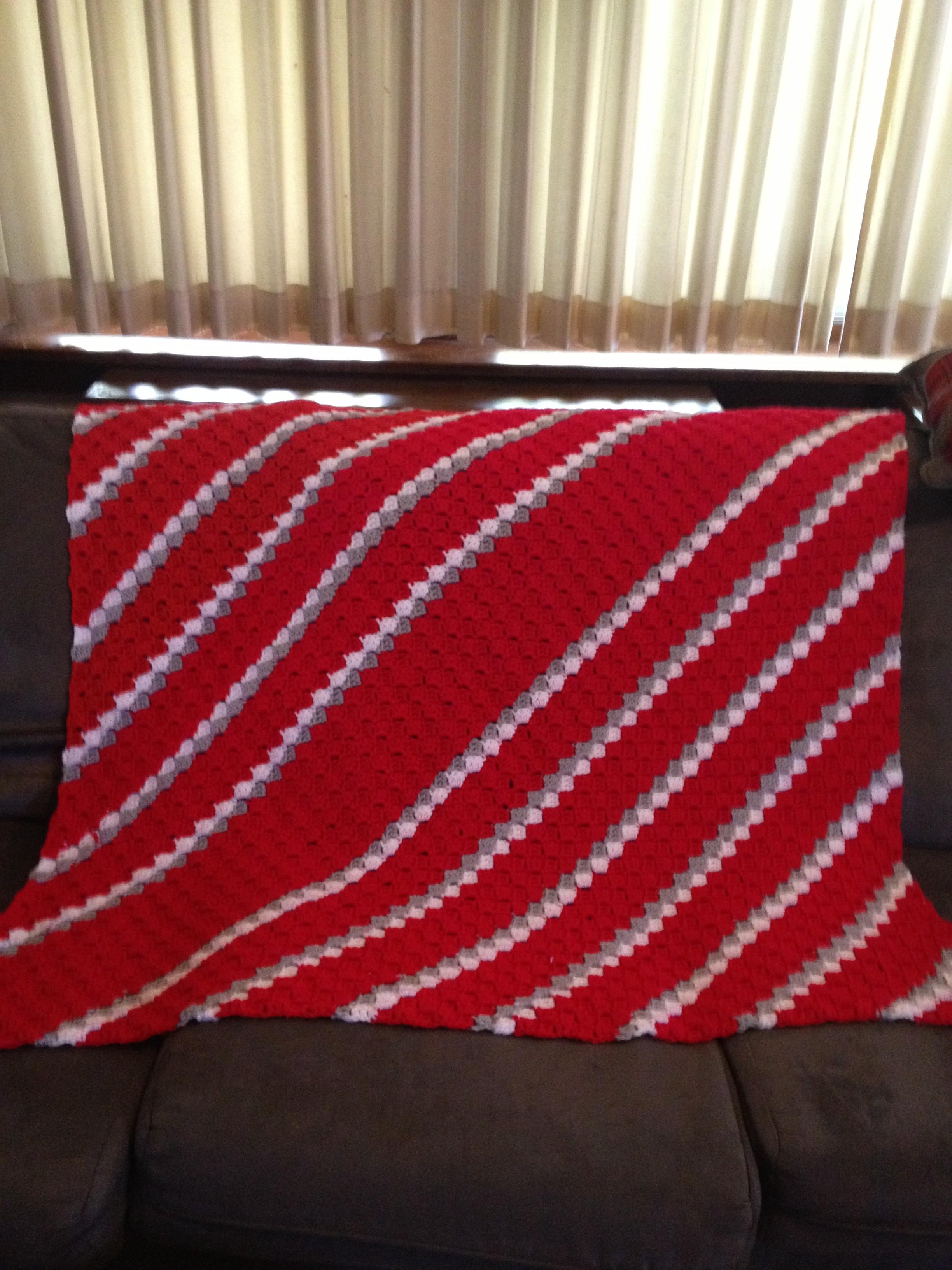 Crochet Corner to Corner Blanket