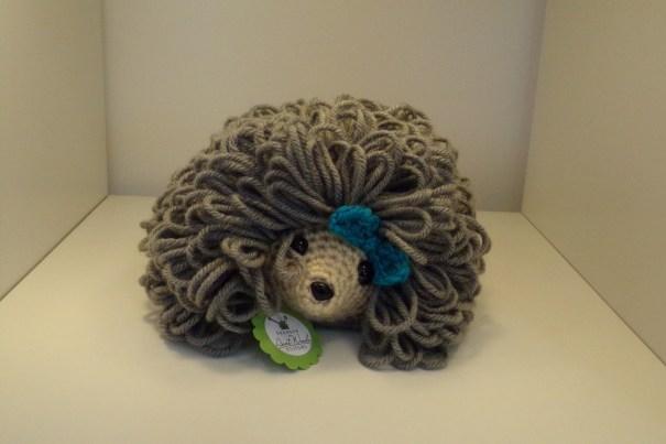 Crocheted Hedgehog