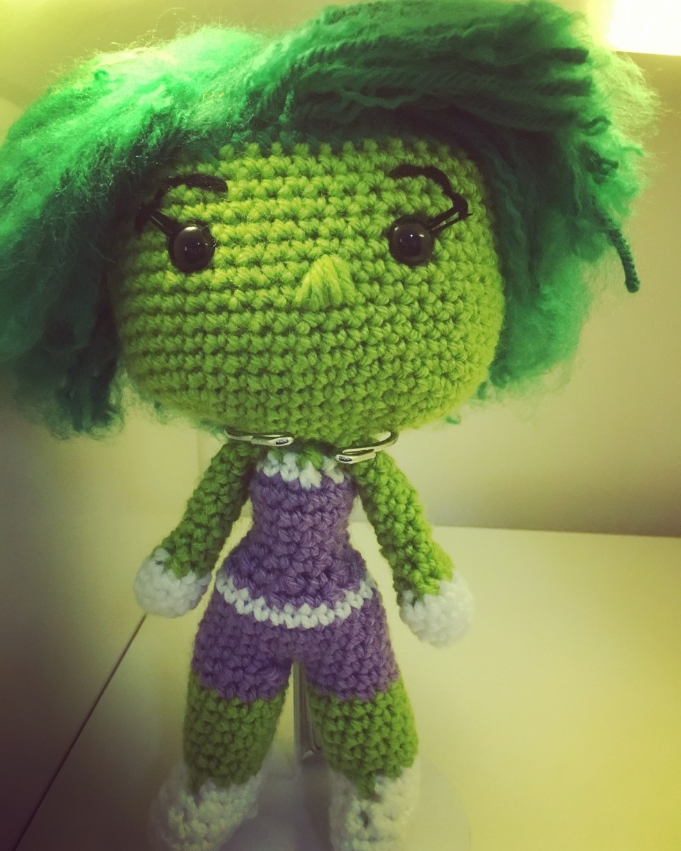 She Hulk Crochet Pattern