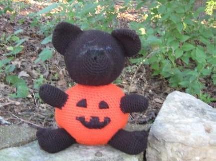 Jacques the Pumpkin Bear – Free Pattern